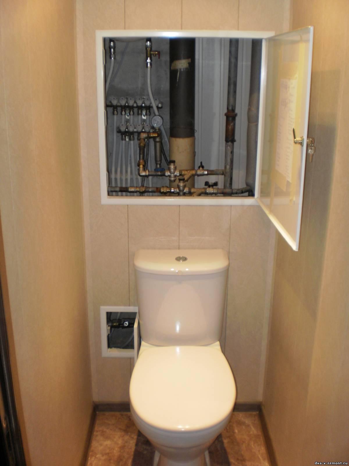 Как сделать ремонт в туалете хрущевка фото