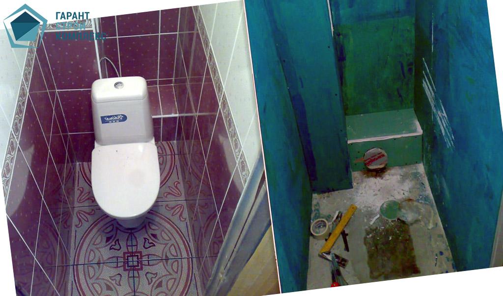 Дизайн своими руками в туалете 179